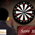 flash dart throwing game